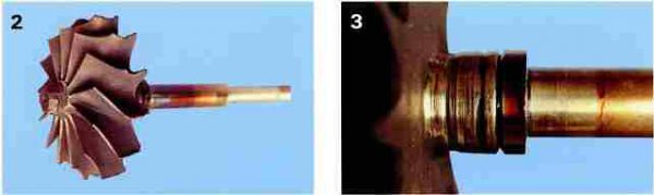Характер поломок, вызванных попаданием инородного вещества в систему выпуска отработавших газов